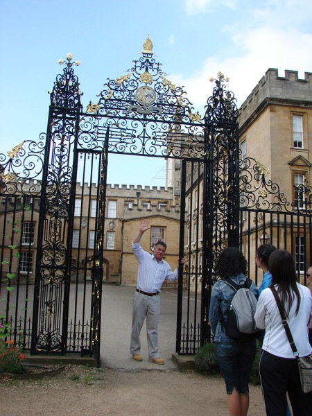 New College Garden – Gate